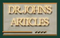Dr. John's Martial Arts Articles